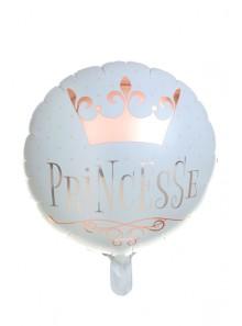 1 ballons métal Princesse
