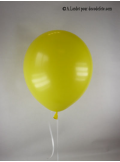 50 ballons jaune biodégradables
