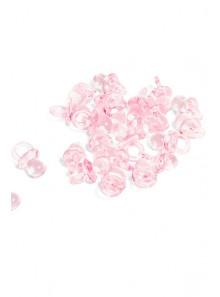 24 mini-tétines roses