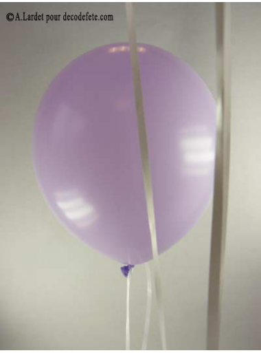 50 ballons lilas biodégradables