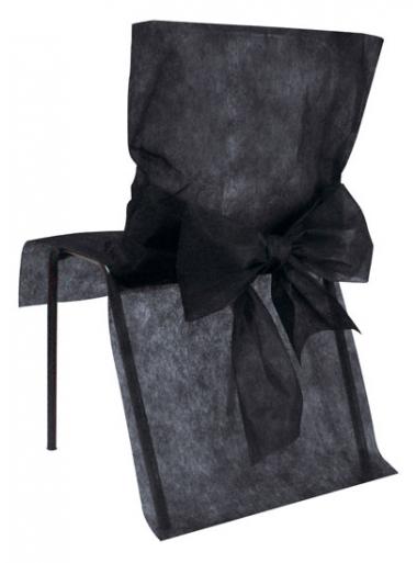 10 housses de chaise noir. Black Bedroom Furniture Sets. Home Design Ideas