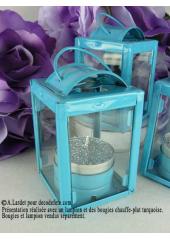 1 lampion turquoise