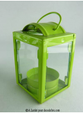 1 lampion vert anis