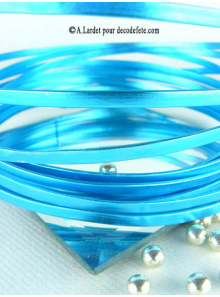 4M RUBAN ALU Turquoise