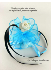 6 tulles Sissi turquoise