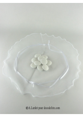 6 tulles Sissi blanc