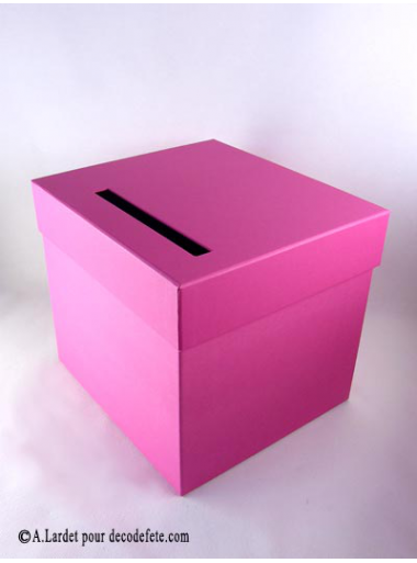 1 urne carr fushia. Black Bedroom Furniture Sets. Home Design Ideas