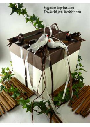 1 urne carr 233 chocolat et ivoire