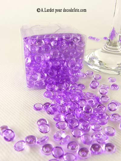 20g perles d 39 eau violet parme. Black Bedroom Furniture Sets. Home Design Ideas
