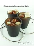 1 photophore CHOCOLAT MAT