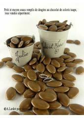 1kg Dragées chocolat caramel (taupe)