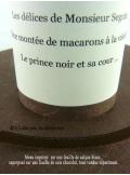 5 Menus feuille de soie CHOCOLAT