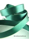 25m Ruban 15mm satin vert anglais