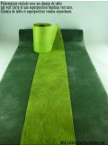 20M Superposition bandeau vert anis