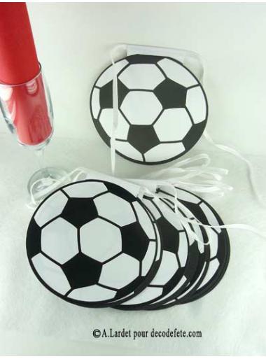 1 guirlande 16 ballons de foot