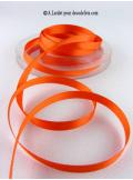 25m Ruban 6mm satin orange
