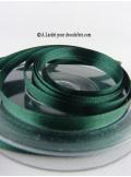 25m Ruban 6mm satin vert anglais