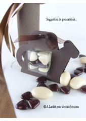 6 boîtes arrosoir CHOCOLAT