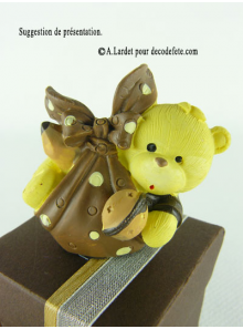 1 Ourson CHOCOLAT