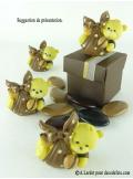 1 Ourson CHOCOLAT