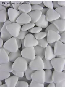 450gr Petits coeurs blancs