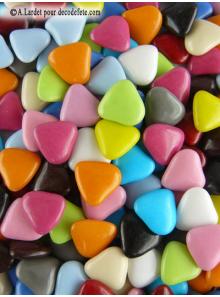 450gr Petits coeurs multicolores