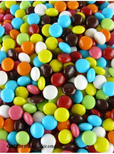 500gr Dragées Confettis multicolore
