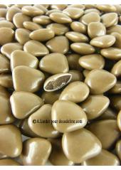 150g Petits coeurs caramel (taupe)