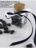 450gr Petits coeurs noir