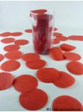 Confettis rond rouge