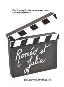 1 CLAP Cinéma marque table
