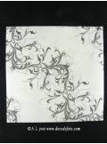 25 Serviettes HARMONY blanc