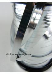 250m Bolduc miroir argent