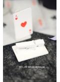 4 Pinces Carte de jeux