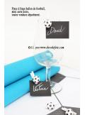 6 Pinces Ballon de football