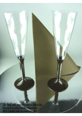 10 Flutes à champagne chocolat