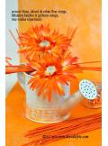 3M ruban FLEUR adhésif orange