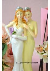 1 couple de mariées femme