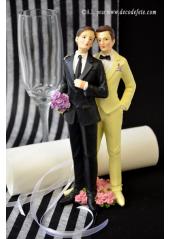 1 couple de mariés homme