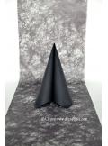 10M Chemin de table FIBRE noir