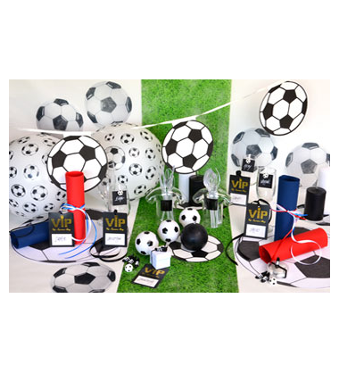 decoration de table ambiance football