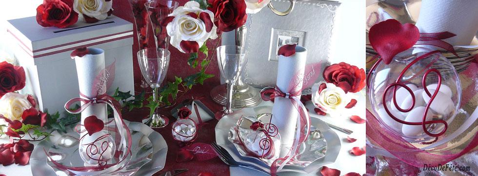 Mariage En Bordeaux Et Gris