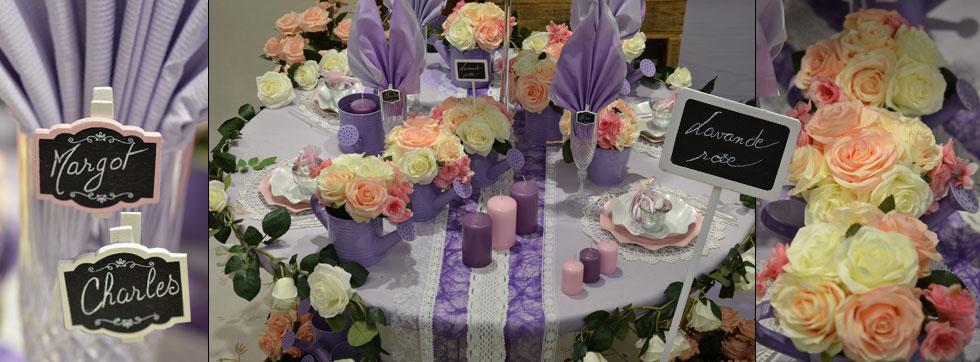 Decoration De Table Lavande
