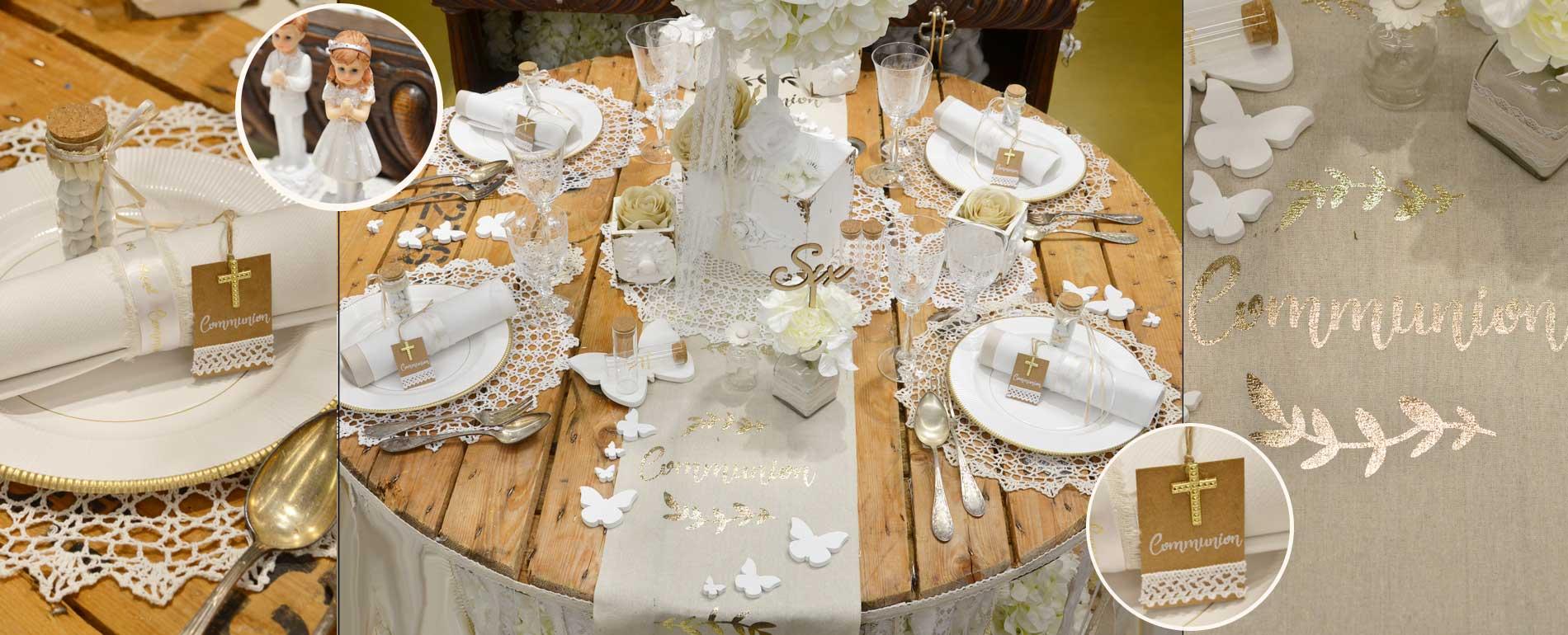d coration de mariage bapt me communion sur d co de f te. Black Bedroom Furniture Sets. Home Design Ideas