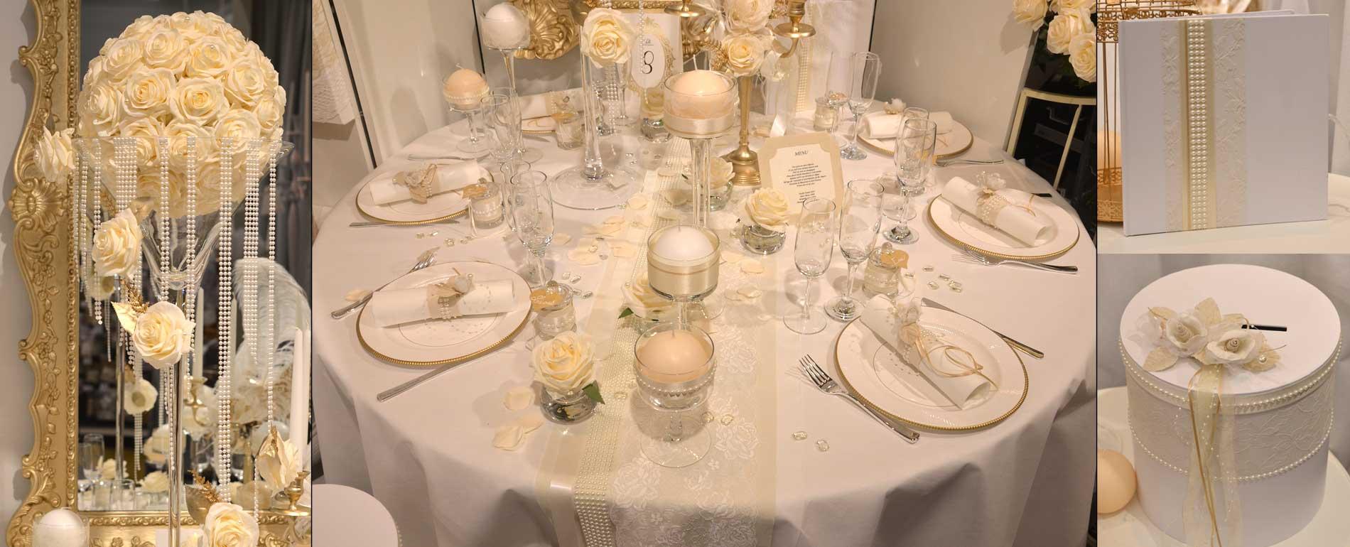 D coration de mariage bapt me communion sur d co de f te for Accessoire pour decoration